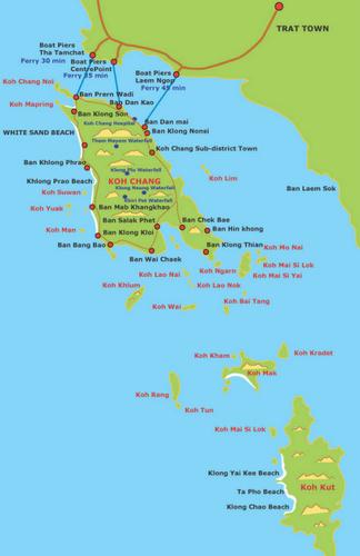 Thaimaan Kartta Suomeksi