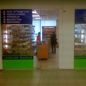 Looduse Maailm myymälä Mustika Keskus Tallinna