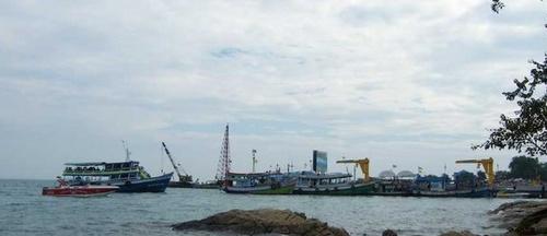 Na Dan Pier laituri Koh Samet Thaimaa