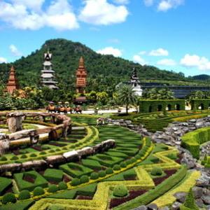 Nong Nooch Tropical Garden & Cultural Village Jomtien Beach Thaimaa