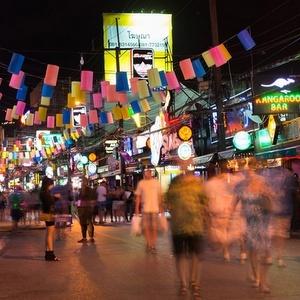 Patong Beach yöelämä Thaimaa