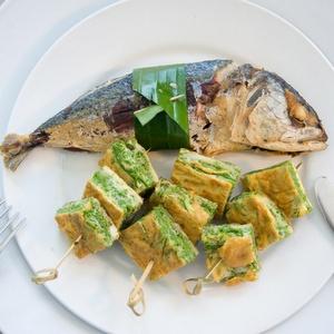 Ruokailu Koh Samet Thaimaa