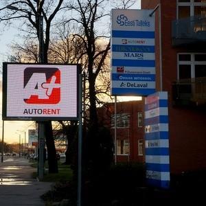 A+ Rent A Car autonvuokraus Mustamäe Tallinna