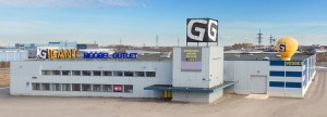 Gigant Mööbel Outlet huonekaluliike Tallinna