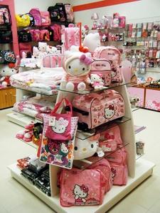 Hello Kitty kauppa Viru Keskus Tallinna