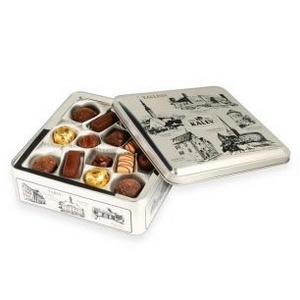 Kalev suklaat Hansalinnad käsintehdt suklaat laatikko