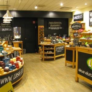 Lush kosmetiikkakauppa Foorum Keskus Tallinna