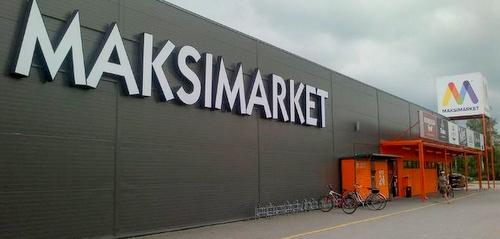 Maksimarket hypermarketti Viro