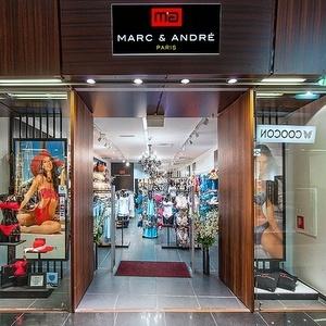Marc & André alusvaatekauppa Foorum Keskus Tallinna