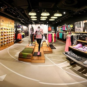 NikeWomen myymälä Viru Keskus Tallinna