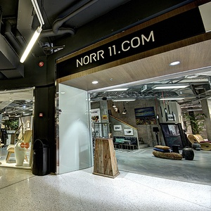 NORR11 huonekalu-ja sisustusliike Rotermann Tallinna