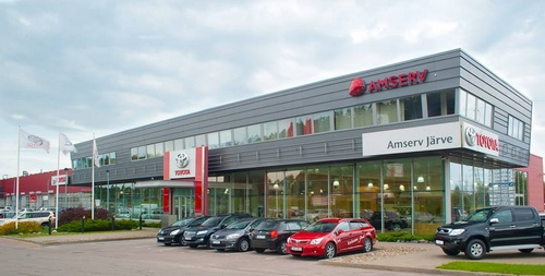 Amserv autokauppa Järve Tallinna