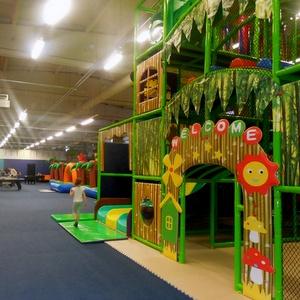 Batuudimaa leikkikeskus Tähesaju City Tallinna