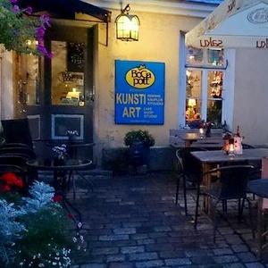 Bogapott keramiikkastudio ja taidekauppa & kahvila Tallinna