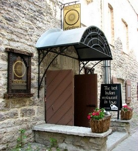 Chakra intialainen ravintola vanhakaupunki Tallinna