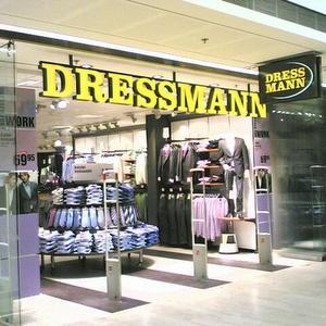 Dressmann xl myymälät