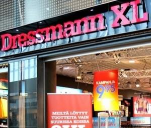 Dressmann XL myymälä