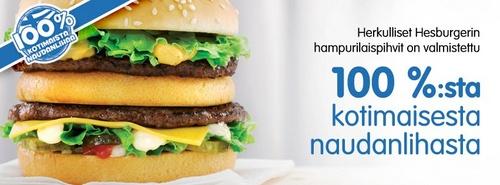 Hesburger hampurilaiset Helsinki