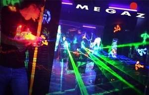 Megazone laserpeli Tallinna