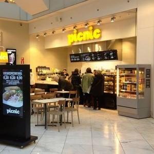 Picnic kahvila Kauppakeskus Forum Helsinki