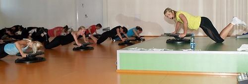 Sparta liikuntakeskus ryhmäliikunta Tallinna