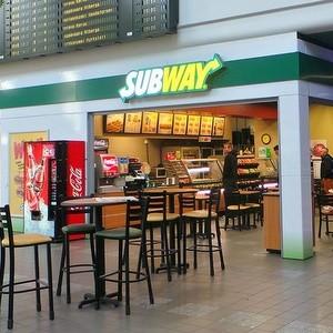 Subway ravintola Pasilan asema Helsinki