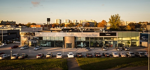 Unelmauto Lexus autokauppa Tallinna
