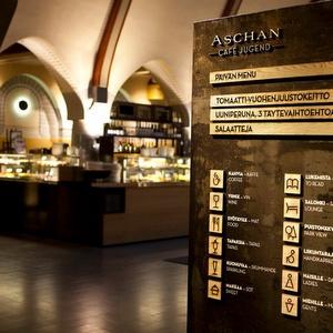 Aschan Café Jugend Pohjoisesplanadi Helsinki