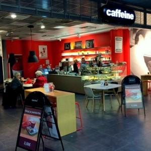 Caffeine kahvila Kauppakeskus Kamppi Helsinki
