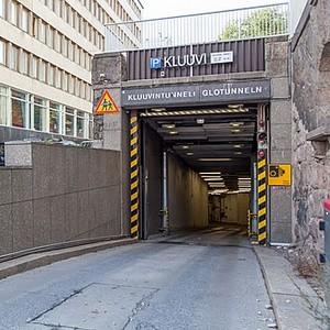 EuroPark P-Kluuvi pysäköintihalli Helsinki
