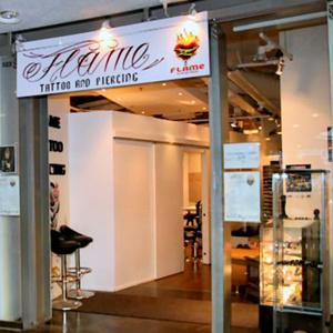 Flame Tattoo & Piercing Kauppakeskus Kamppi Helsinki