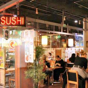 Ichiban Sushi ravintola Kauppakeskus Kamppi Helsinki