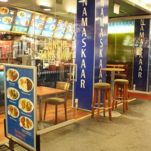 Intialainen ravintola Namaskaar rautatieaseman kauppakuja Helsinki