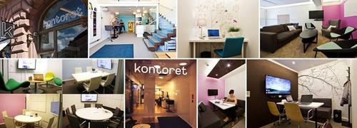Kontoret mobiili työtila Helsinki
