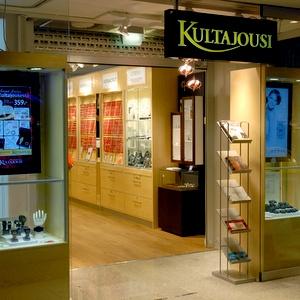Kultajousi kello- ja korukauppa Kauppakeskus Citycenter Helsinki