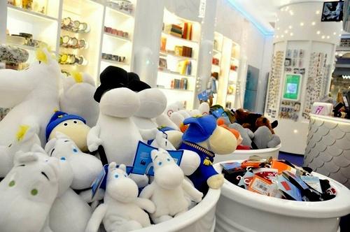 Moomin Shop myymälä Kauppakeskus Itis Helsinki