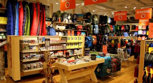 Partioaitta myymälä Helsinki