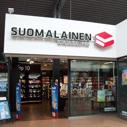 Suomalainen Kirjakauppa myymälä Vuosaari Helsinki