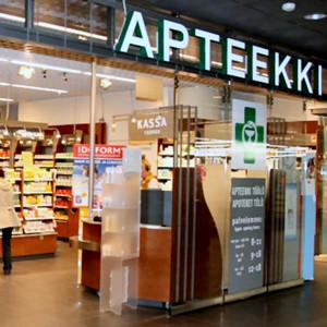 Töölön Apteekki Kauppakeskus Kamppi Helsinki