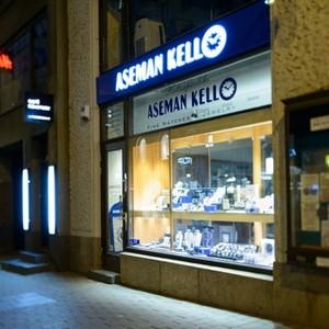 Aseman Kello kellokauppa Aleksanterinkatu Helsinki