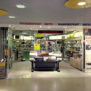 Asematunnelin Kuvapiste Kuvatehdas Citycenter Helsinki