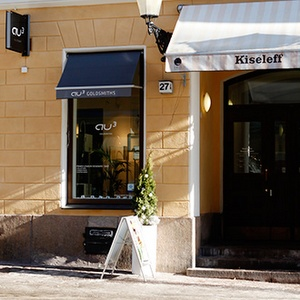 Au3 Kultasepät myymälä Kiseleffin talo Torikorttelit Helsinki