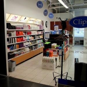 Clips kampaamo-myymälä Kauppakeskus Ristikko Helsinki