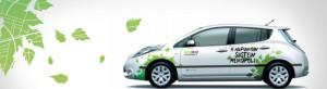 EkoRent Nissan Leaf sähköauto Helsinki