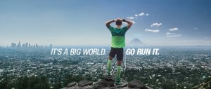 It's A Big World Asics juokseminen