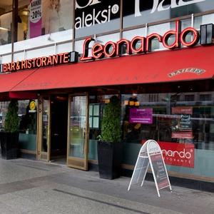 Leonardo Bar & Ristorante italialainen ravintola Citycenter Helsinki