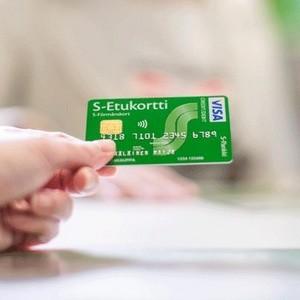 S-Etukortti Visa S-Pankki Helsinki