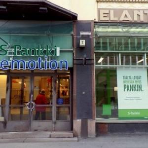 S-Pankki asiakaspalvelupiste Hakaniemi Helsinki