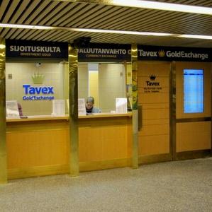 Tavex kultaliike Asematunneli Helsinki