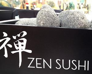 Zen Sushi ravintola Galleria Esplanad Helsinki